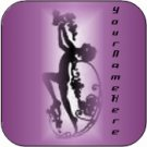 Ebay Store Logo Purple Fairy Dress Up your Ebay Store Add your Store Name!!