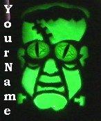 Ebay Store Logo Green Frankenstein Halloween Dress Up your Ebay Store Add your Store Name!!