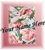 Ecrater Store Logo & HomePage Image Pink Flower Fairy Dress Up your Ecrater Store Add your Name!