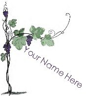 Ecrater Store Logo & HomePage Image Grape Vine Dress Up your Ecrater Store Add your Name!