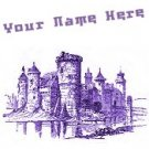 Ecrater Store Logo & HomePage Image Purple Medieval Castle Dress Up your Ecrater Store!!