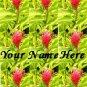 Ecrater Store Logo & HomePage Image Pink Green Hawaiian Flower Dress Up your Ecrater Store!!