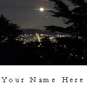 Ecrater Store Logo & HomePage Image San Francisco Night View Dress Up your Ecrater Store!!