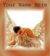 Ecrater Store Logo & HomePage Image Angel Fairy Woman Dress Up your Ecrater Store!!