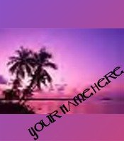 Ecrater Store Logo & HomePage Image Hawaii Island Sunset Purple Pink Your Ecrater Store!!