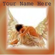Neoloch.com Store Banner and Logo Combo Angel Fairy Woman Add your Store Name!