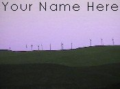 Neoloch.com Store Banner and Logo Combo Cliff Mountain Sunset Cyclones Add your Store Name!