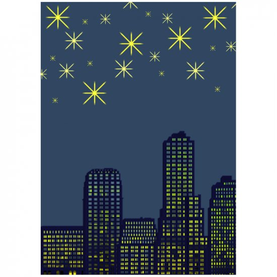 City Lights - 8 x 12 Print