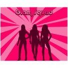Glam Squad 5 - 8x10 Print