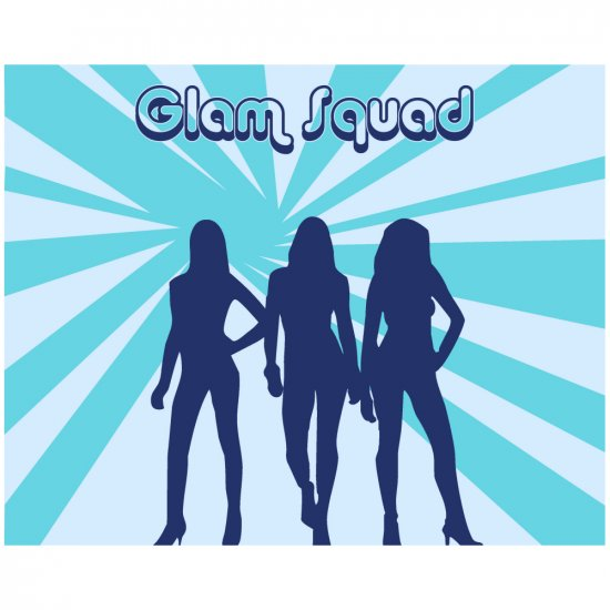 Glam Squad 3 - 8x10 Print