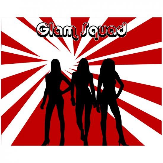 Glam Squad 2 - 8x10 Print