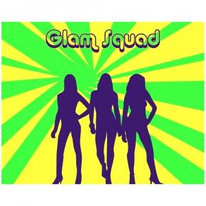 Glam Squad 1 - 8x10 Print