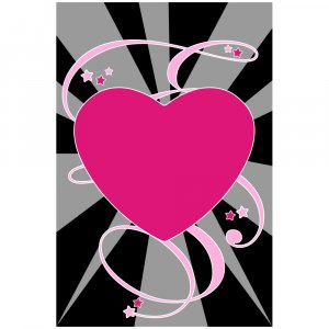 Heart Trance - 8 x 12 Print