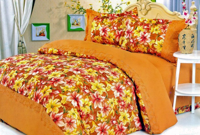 Brown/Orange Duvet Cover