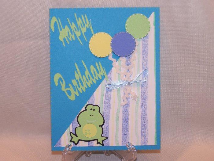Happy Birthday Frog #226