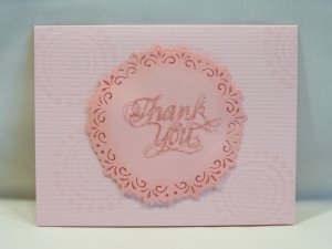 Pink Thank you #234