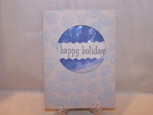 Happy Holidays shaker  #147