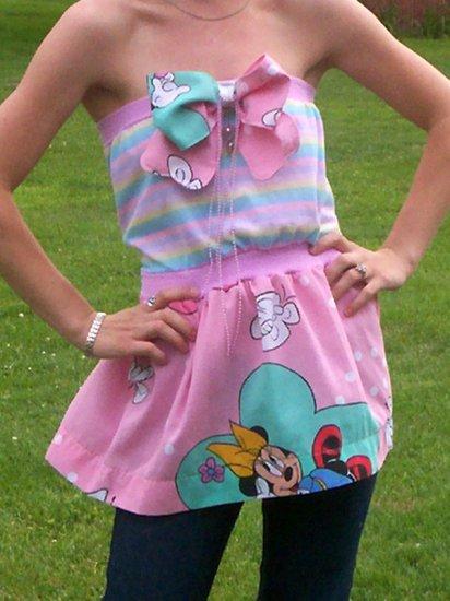 Babydoll Vintage Handmade dress or top