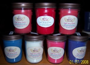 8 oz. Candles