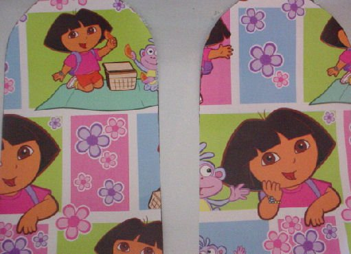 DORA THE EXPLORER Children's Ceiling Fans, 42 inch with Light NIB