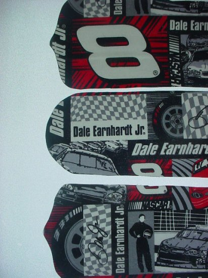 """NASCAR Dale Earnhardt Jr, Kids Ceiling Fans 42"""" w/ Light NIB!"""