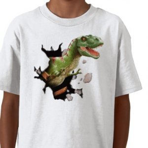 DINOSAUR Design Kids  T-Shirt size youth lg