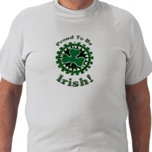 PROUD TO BE IRISH Design Kids  T-Shirt size youth lg