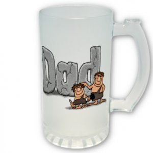 16 oz. Beer Stein FATHER'S DAY PERSONALIZED