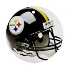 Pittsburgh Steelers Porcelain Flat Round Ceiling Fan pull or Ornament Football 28781888