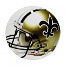 New Orleans Saints Porcelain Flat Round Ceiling Fan or Ornament pull Football 28782414