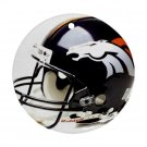 Denver Broncos Porcelain Flat Round Ornament Ceiling Fan pull Football 28783280