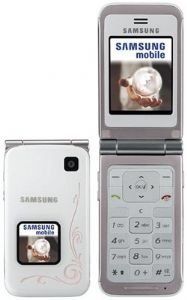 Samsung E420 White Unlocked Tri Band Gsm Cell Phone