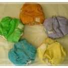 Velour Fitted Cloth Diaper (RM 39)