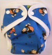 Naughty Monkey - Snazzy Cloth Diaper (RM 68)