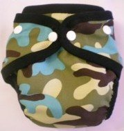 Camouflage - Snazzy Cloth Diaper (RM 68)