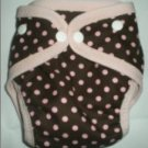 Cocoa Dots - Snazzy Cloth Diaper (RM 68)