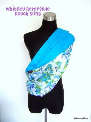 Whitney White & Abstract Floral Rose Silk with Satin Cotton Light Aqua Blue