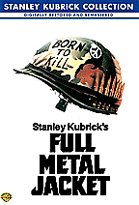 FULL METAL JACKET DVD from the STANLEY KUBRICK COLLECTION New and Sealed