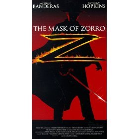 The Mask of Zorro (1998) Antonio Banderas VHS w/ cover Excellent Condition
