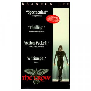 Miramax Home Video THE CROW W/ Brandon Lee VHS w/ cover Excellent Condition