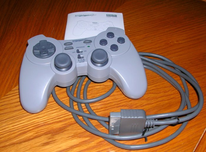 InterAct BARRACUDA 2 Rare GAME PAD CONTROLLER SV-1133 FOR PLAYSTATION ONE 1