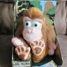 JOE BLOW THE FARTING MONKEY plush joke toy, NEW