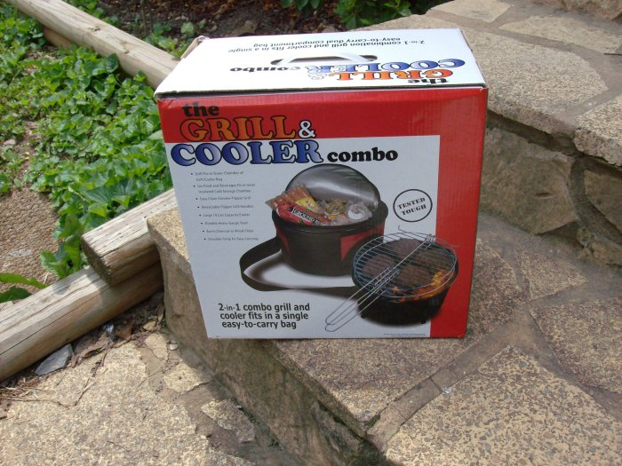 Grill & Cooler Combo