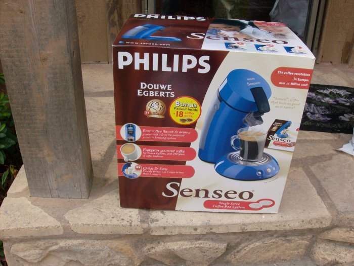 Philips Senseo Single Serve Coffee Pod System