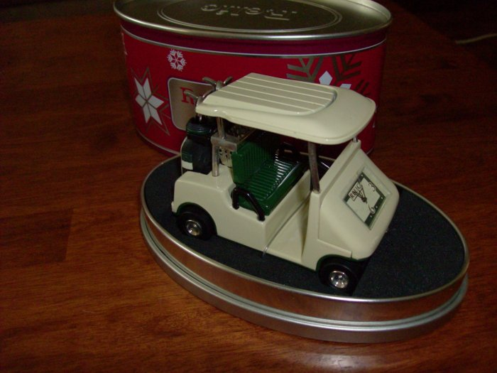 Golf Cart Desk Clock by Relic