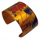 "Blam! 1 1/2"" Pop Art Comic Cuff Bracelet"