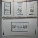 Crabtree & Evelyn box/3 creamy Vanilla Bath Soap • Rare Disc'd - with glycerine