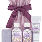 Crabtree Evelyn classic Lavender Mayfair Drawstring Gift  Bath Shower Lotion Therapy  traveler