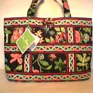 Vera Bradley Small Tic Tac Tote purse handbag Botanica   Retired NWT book kindle e-reader
