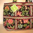 Vera Bradley Large Tic Tac Tote Botanica XL weekend diaper tote carryon NWT Retired